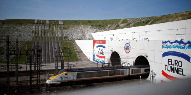 Eurotunnel boucle une année 2014 record