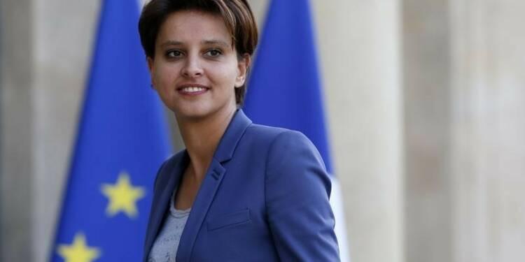 Najat Vallaud-Belkacem, première femme promue à l'Education