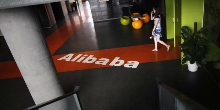 L'action d'Alibaba au plus haut après des résultats en ligne