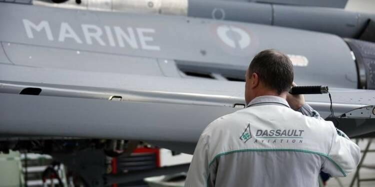 Le chiffre d'affaires 2014 de Dassault Aviation en baisse de 20%