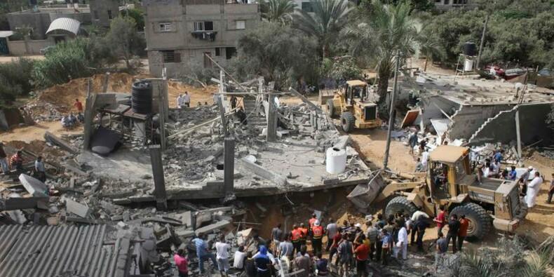 Le bilan dépasse les 800 morts dans la bande de Gaza