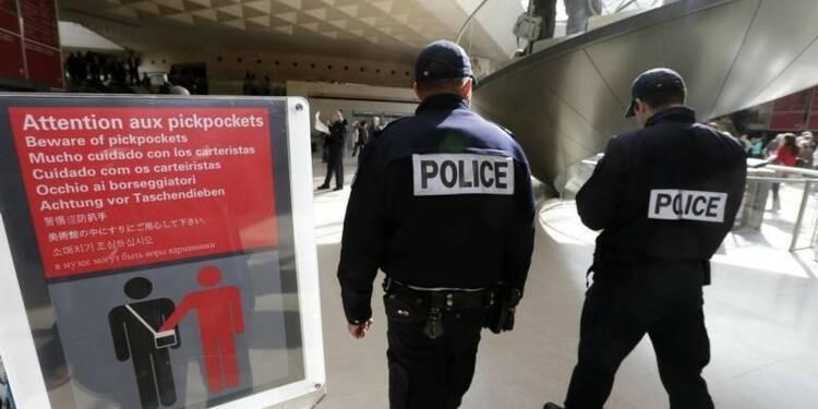 Les vols avec violence contre les touristes à Paris en baisse