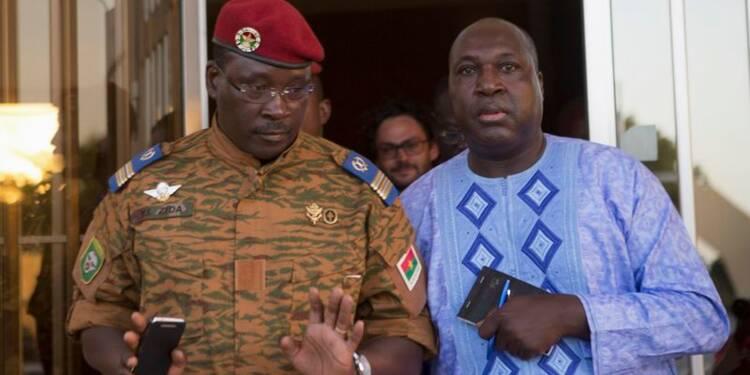 Accord au Burkina Faso sur un gouvernement de transition