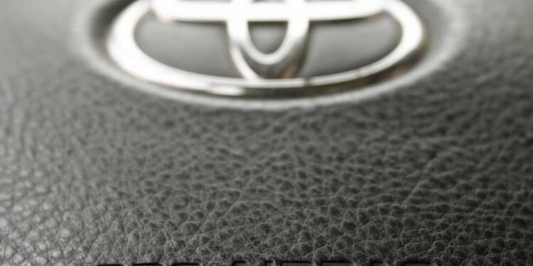 Toyota annonce un nouveau rappel lié aux airbags de Takata