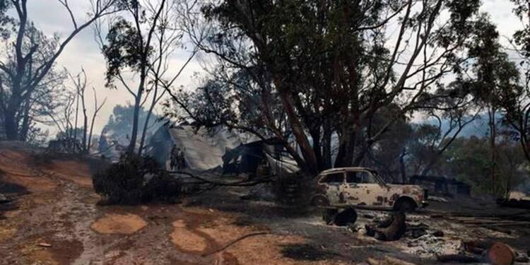 Les pompiers australiens face aux pires incendies en 30 ans