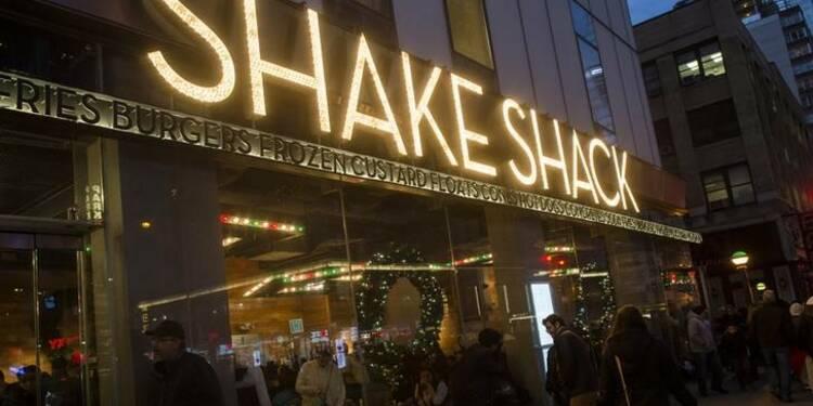 Shake Shack s'envole pour sa première cotation à Wall Street