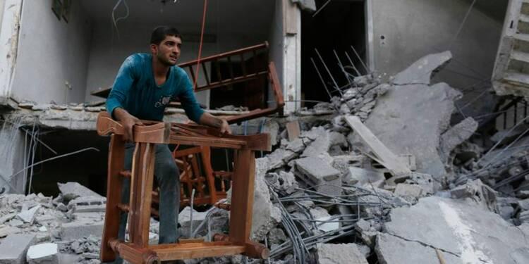 Poursuite des combats israélo-palestiniens à Gaza