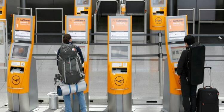 Plus de la moitié des vols long-courriers de Lufthansa annulés