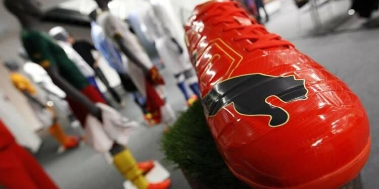 Les ventes de Puma meilleures que prévu pour la Coupe du Monde