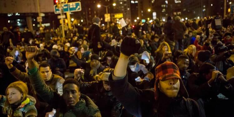 Nouvelles manifestations aux Etats-Unis après l'affaire Garner