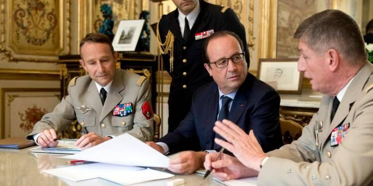 La France renforce son dispositif militaire en Irak