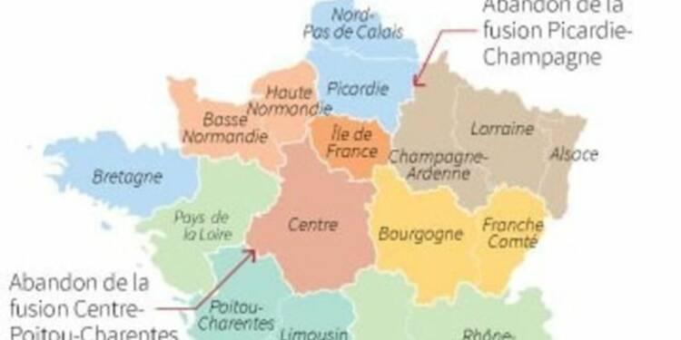 Les députés PS dessinent une carte à 13 régions au lieu des 14 prévues