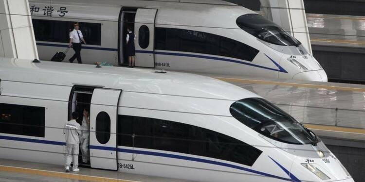 Fusion de 2 constructeurs de trains chinois pour doper l'export