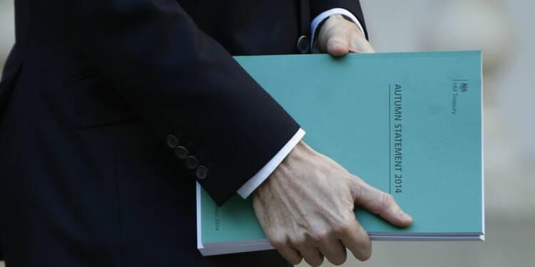 Cameron creuse le déficit britannique à cinq mois des élections