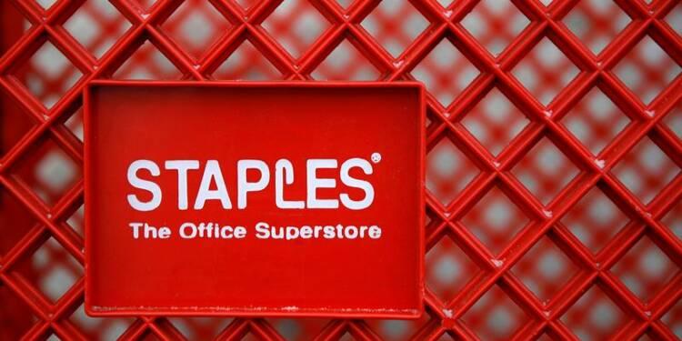 Le chiffre d'affaires de Staples recule encore