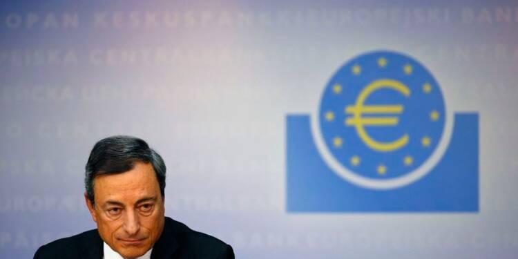 La BCE baisse ses taux, annonce des rachats d'actifs limités