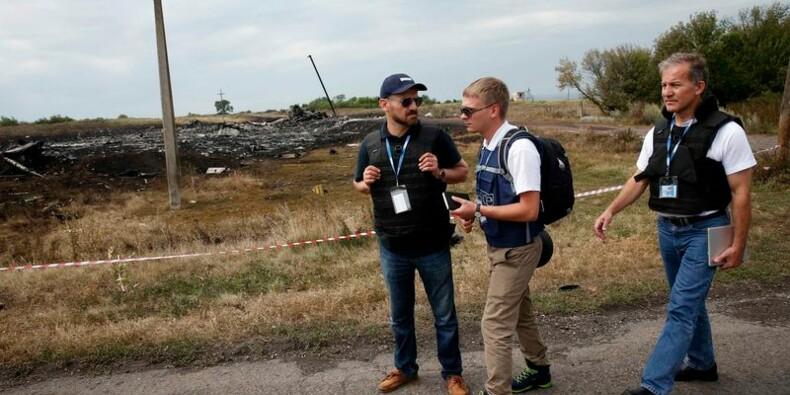 L'OSCE a eu un meilleur accès au lieu de l'accident d'avion