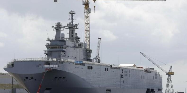 Paris renonce pour l'instant à livrer un Mistral à Moscou