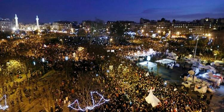 Marée humaine à Paris contre le terrorisme