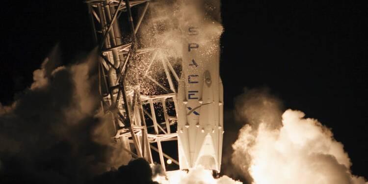 SpaceX rate la récupération du lanceur de la capsule Dragon