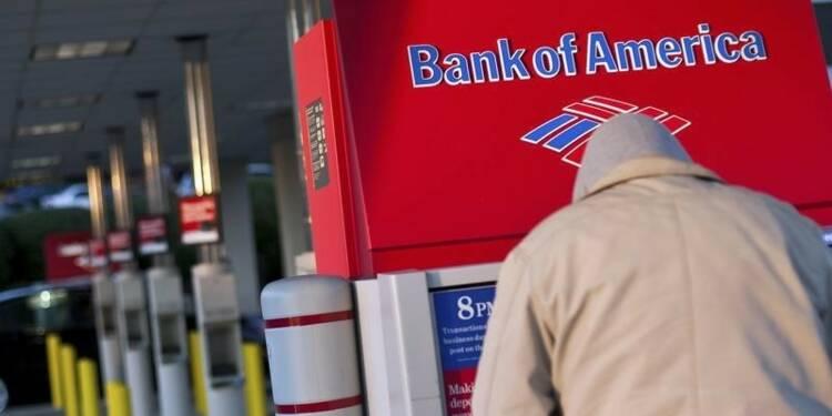 Les frais juridiques obèrent les profits de Bank of America