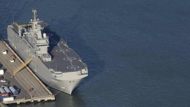 Le premier Mistral livré à la Russie le 14 novembre, dit Moscou