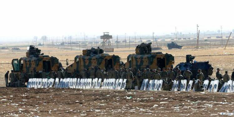 Les Kurdes de Kobani, en Syrie, disent avoir stoppé l'EI