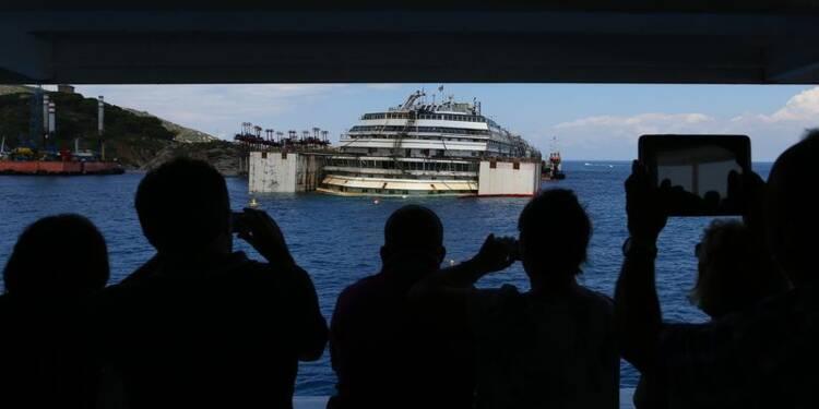 Feu vert à la remise à flot du Costa Concordia