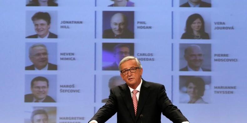 Jean-Claude Juncker présente les membres de l'exécutif européen