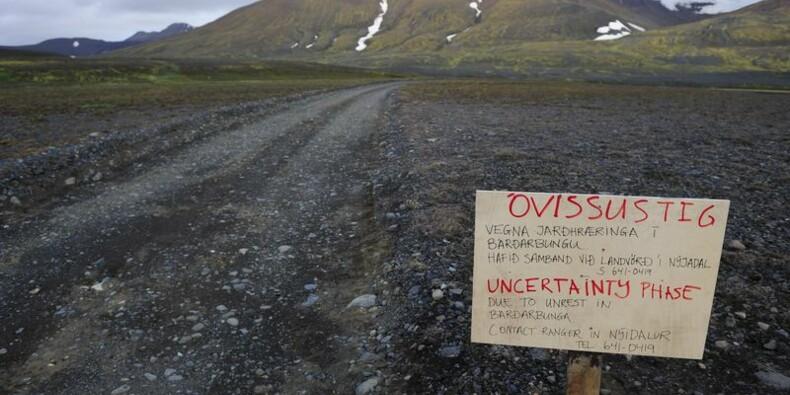 L'Islande réduit son niveau d'alerte, aucun signe d'éruption