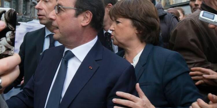 François Hollande hué et sifflé dans la ville de Martine Aubry