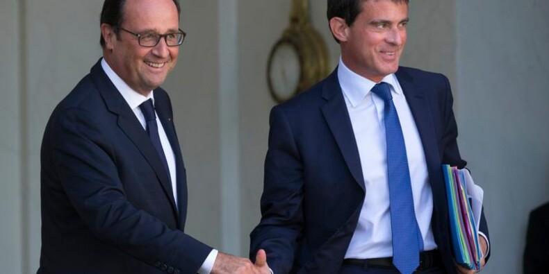 Nouvelle chute dans les sondages pour Hollande et Valls