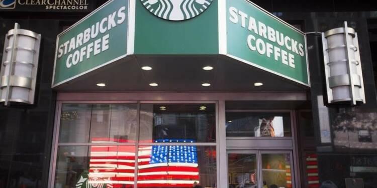 Starbucks déçoit avec ses ventes aux Etats-Unis