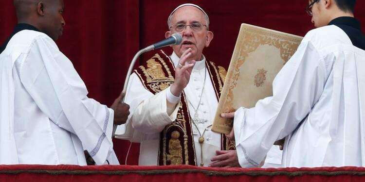 """Le pape dénonce la """"persécution brutale"""" de l'Etat islamique"""