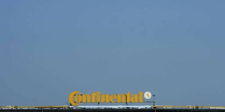 Continental pense dépasser son objectif de marge 2014