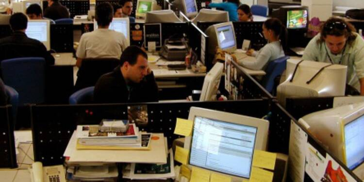Forte hausse du chômage chez les informaticiens en 2009