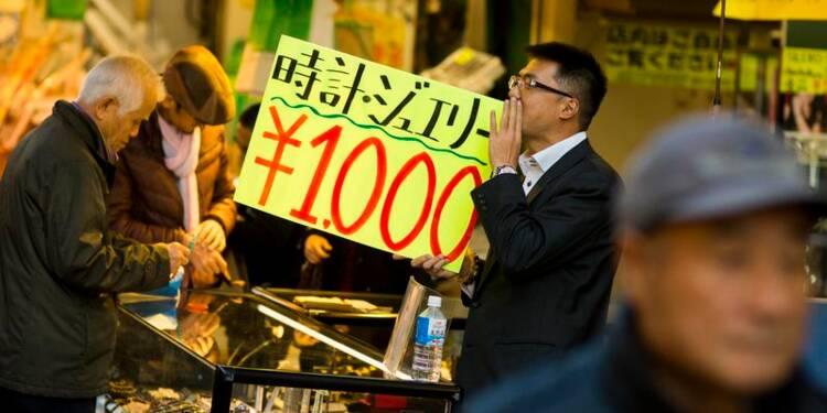 L'inflation ralentit au Japon, pour le troisième mois d'affilée