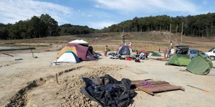 Le chantier du barrage de Sivens provisoirement suspendu