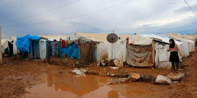 Les conflits en Irak et Syrie ont déplacé 13,6 millions de personnes