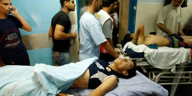 Israël bombarde la bande de Gaza, des sirènes à Jérusalem