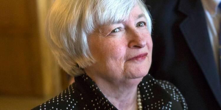 """Janet Yellen prône une approche """"pragmatique"""" de l'emploi"""