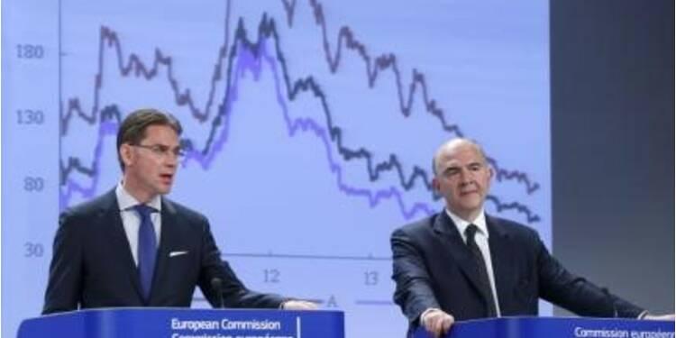 La Commission voit le déficit français augmenter en 2015