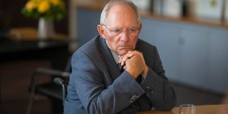 Wolfgang Schäuble contre une relance par la dépense publique