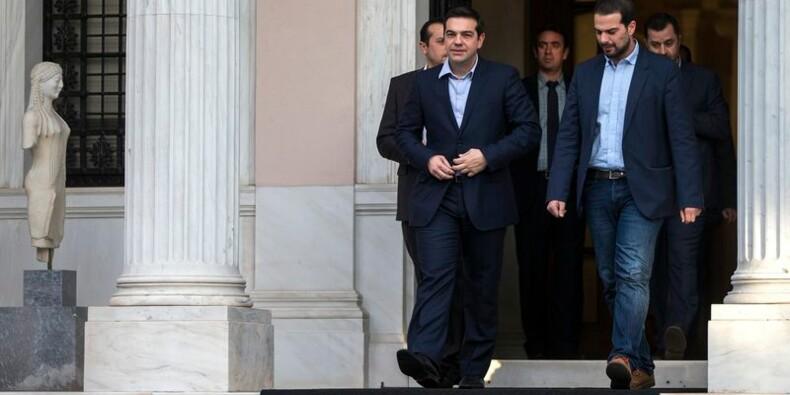 Le Premier ministre grec Alexis Tsipras dévoile son gouvernement