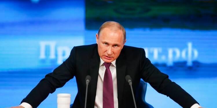 Vladimir Poutine assure que l'économie russe va se redresser