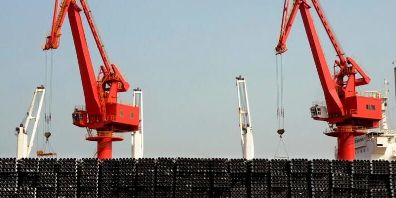 Très forte hausse des exportations de la Chine en février