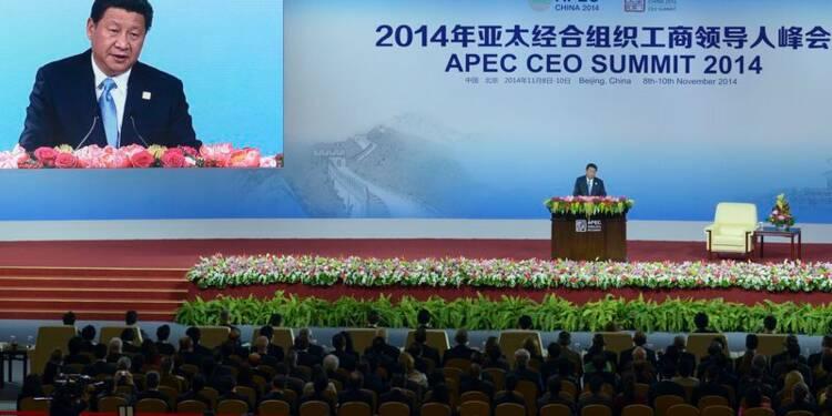 Le président chinois minimise le ralentissement de la croissance