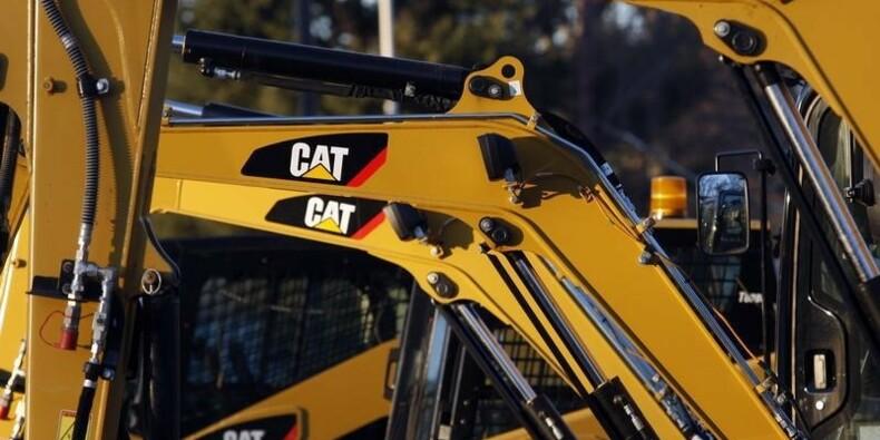 Caterpillar affiche un bénéfice trimestriel meilleur que prévu