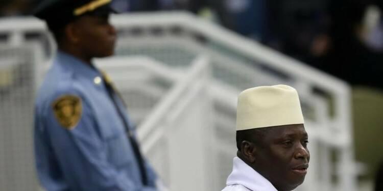 Le président gambien est rentré à Banjul