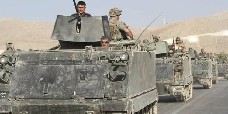 Premières armes françaises livrées au Liban début 2015